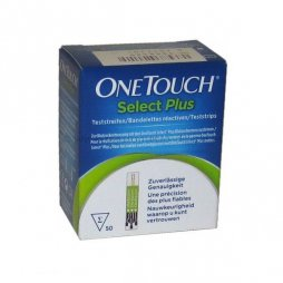 Tiras Reactivas Onetouch Select Plus 50